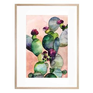 Desert Rose II - Framed Print - Natural Frame - ONE ONLY