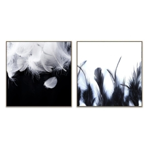 Feather Strong - Ritualistic - Canvas Print - Natural - ONE ONLY