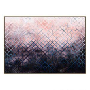 Geometric XI - Canvas Print - Natural Frame - ONE ONLY