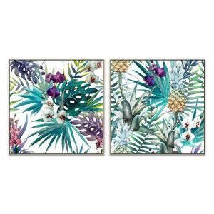 Grandiflora - Pina - Canvas Print - Natural - ONE ONLY