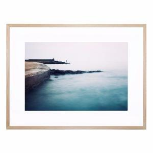 The Beginning Of This - Framed Print - Natural Frame - ONE ONLY
