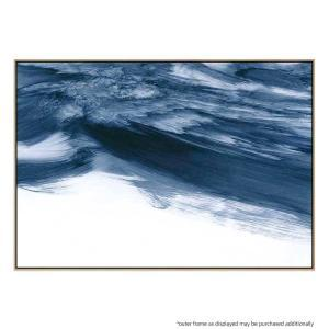White Noise - Canvas Print - Natural Frame - ONE ONLY