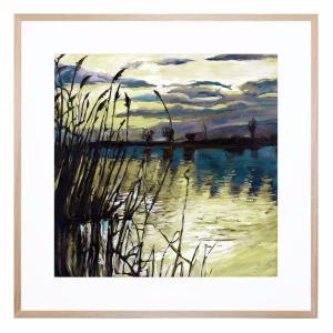 Lago Splendida - Framed Print - Natural Frame - ONE ONLY