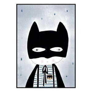 Be Batman - Canvas Print - Black Frame - ONE ONLY