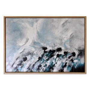 Autumnal Blue - Painting - Natural Frame - One Only