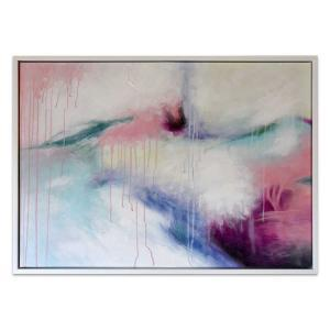 Feeling Love - Painting - White Frame - One Only