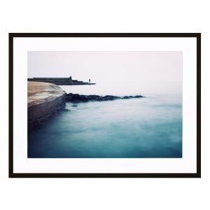 The Beginning of This - Framed Print - Black Frame - ONE ONLY