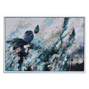 Autumnal Elements - Painting - White Frame - One Only