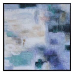 Rainy Haze - Painting - Blackl Frame - One Only