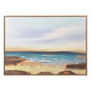 Stone Coast - Painting - Natural Frame - One Only