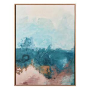 Mountains Of Hope - Painting - Natural Frame - One Only