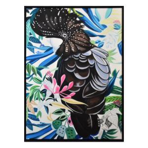 Sirieuse - Painting - Black Frame - One Only