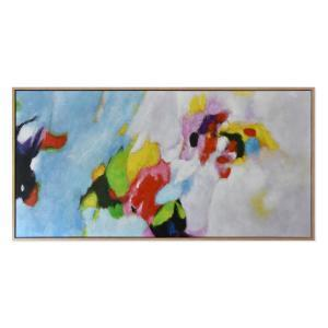 Mood Swing - Painting - Natural Frame - One Only