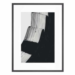 Mono Kris - Framed Print - Black Frame - ONE ONLY