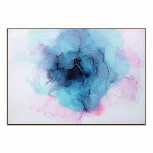 Faded Summer - Canvas Print - Natural Shadow Frame