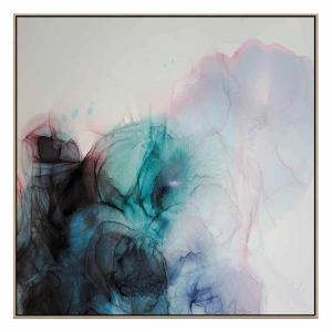 Loudly Soft - Canvas Print - Natural Shadow Frame
