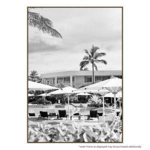 Poolside Palms - Print