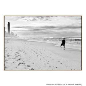 Black and White Surf - Print