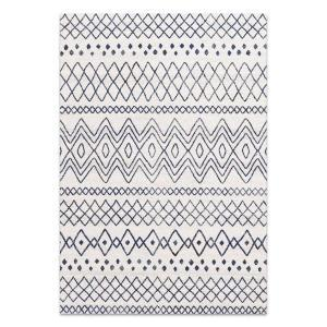 Oasis 453 Rug - White Blue