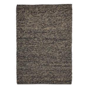 Aspen Modern Wool Rug – Grey
