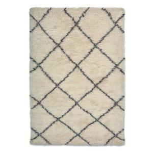 Casablanca 2 Moroccan Wool Rug - White