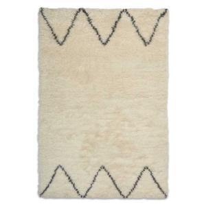 Casablanca 1 Moroccan Wool Rug - White