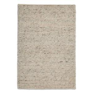 Knight Modern Wool Rug - Natural