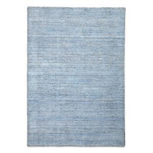 London Modern Wool Rug - Sky Blue
