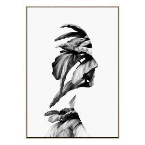 Flourish - Canvas Print - Natural Shadow Frame (Clearance)