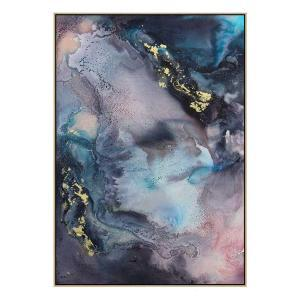 Cosmic Part 3 - Canvas Print - Natural Shadow Frame (Clearance)