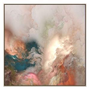 Peerless Horizons - Canvas Print - Natural Shadow Frame - (Clear