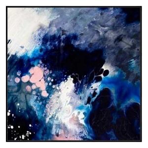 Stellar Grande X - Canvas Print - Black Shadow Frame - (Clearanc