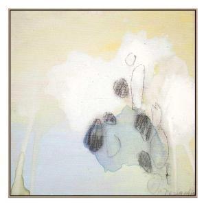 Little Secret 10 - Canvas Print - Natural Shadow Frame (Clearanc