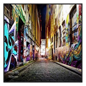 Hosier Lane - Canvas Print - Black Shadow Frame (clearance)