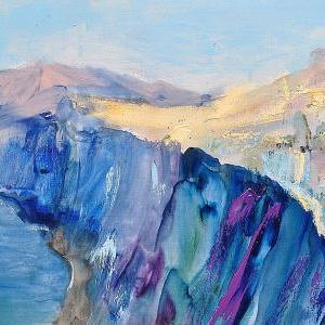 La Caldera 2 - Hand Painting - No Frame (clearance)