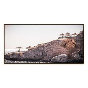 Zen - Canvas Print - Natural Shadow Frame (Clearance)