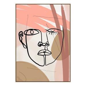 Liandros - Canvas Print - Natural Shadow Frame (Clearanc