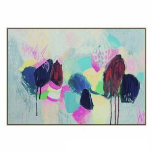Pop Rocks - Painting - Natural Shadow Frame (Clearance)