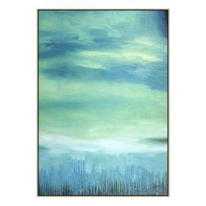 Aquatique - Painting - Natural Shadow Frame (Clearance)