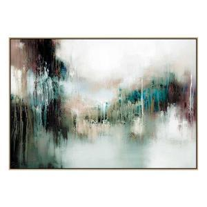 Boulevard - Painting - Natural Shadow Frame (Clearance)