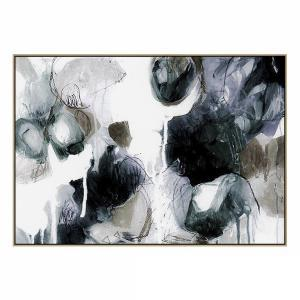 Emerald Rocks - Painting - Natural Shadow Frame (Clearance)