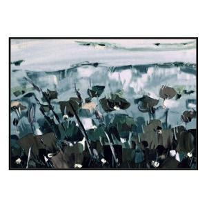 Fields And Flora - Painting - Black Shadow Frame (Showroom Clear