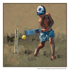 Beach Cricketer II - Print