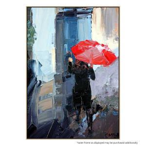 Red Umbrella - Print