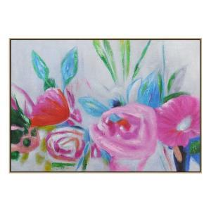 All On Show - Painting - Natural Floating Frame (FLASH SALE)