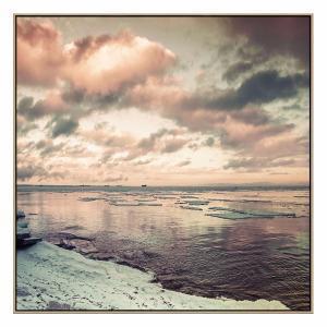 Arctic Solstice - Print - Natural Shadow Frame (Warehouse Sale)
