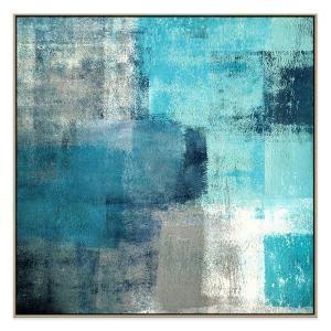 Blue Spirits - Print - Natural Shadow Frame (Warehouse Sale)