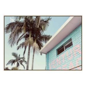 Blue Escape - Print - Natural Shadow Frame (Warehouse Sale)