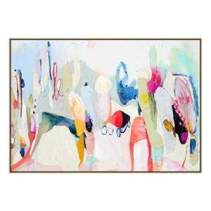 Around The Corner - Print - Natural Shadow Frame (Warehouse Sale