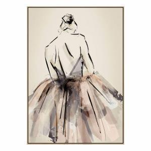 Always Ballet - Print - Natural Shadow Frame (Warehouse Sale)